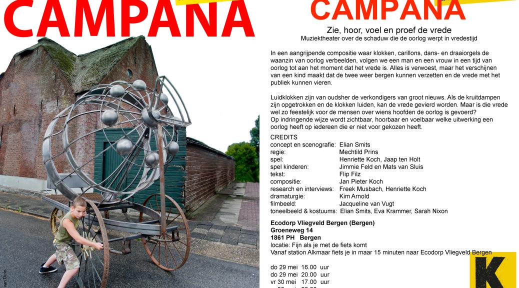 fotografie flyer: Ben van Duin